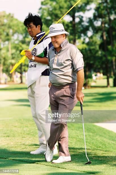 American golfer Jim Colbert on the course during the PGA Seniors' Championship at the PGA National Golf Club Palm Beach Gardens Florida 1996