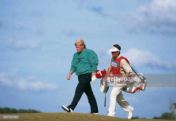American golfer John Daly competing in the Open Championship at St Andrews Scotland 23rd July 1995Daly went on to win the event