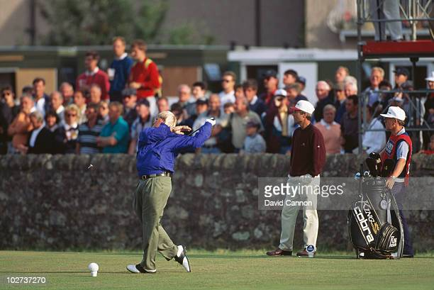 American golfer John Daly competing in the Open Championship at St Andrews Scotland 22nd July 1995Daly went on to win the event