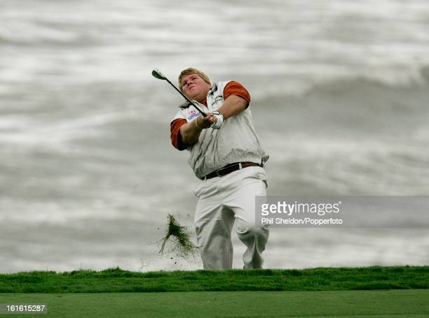 American golfer John Daly in action during the US PGA Championship held at the Whistling Straits Golf Club in Haven Wisconsin circa August 2004