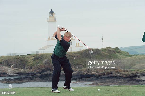 American golfer John Daly pictured during action to finish in 81st place at the 1994 Open Championship at Turnberry Golf Resort in Scotland in July...
