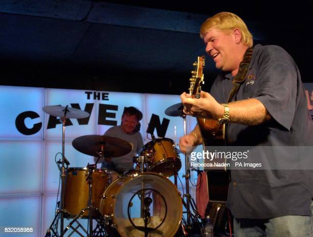 American golfer John Daly plays guitar at the Cavern Club Liverpool Picture date Tuesday 18 July 2006 Issued on Wednesday 19 July 2006 Photo credit...