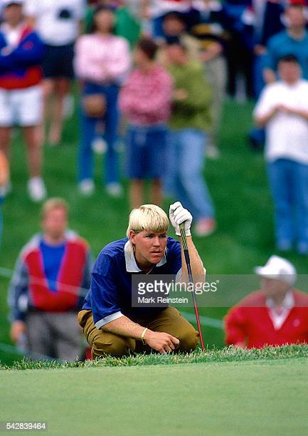 American golfer John Daly plays in the Kemper Open at the TPC Avenel Potomac Maryland May 28 1992