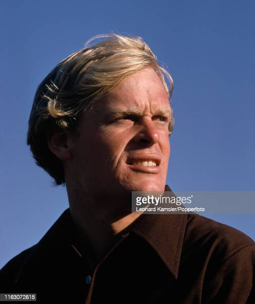 American golfer Johnny Miller during the US Masters Golf Tournament at the Augusta National Golf Club in Georgia circa April 1974
