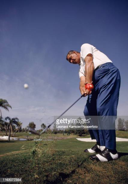 American golfer Julius Boros in action circa 1969