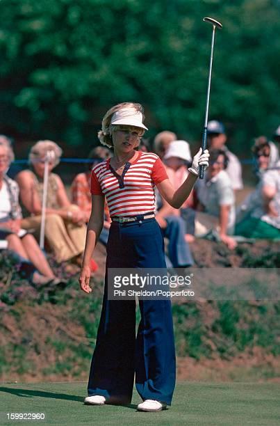 American golfer Laura Baugh at the Colgate LPGA tournament held at Sunningdale Golf Club in Sunninngdale Berkshire circa 1977