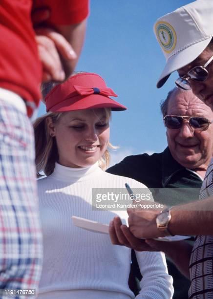 American golfer Laura Baugh circa 1974