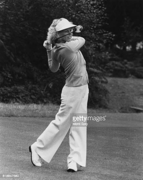 American golfer Laura Baugh tees off on the 3rd during the second day of the Colgate LPGA Championship at Sunningdale UK 4th August 1978