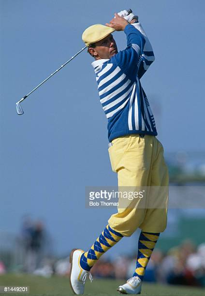 American golfer Payne Stewart during the British Open Golf Championship held at St Andrews Scotland between the 19th 22nd July 1990