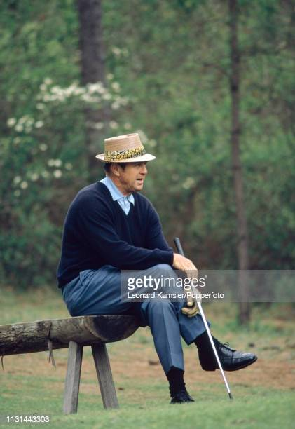 American golfer Sam Snead circa March 1978