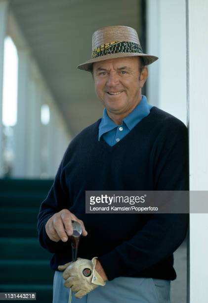 American golfer Sam Snead during the US Masters Golf Tournament at the Augusta National Golf Club in Augusta Georgia circa April 1972