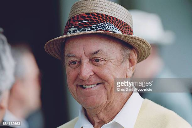 American golfer Sam Snead pictured during a visit to the 1995 Masters Tournament at Augusta National Golf Club in Augusta Georgia in April 1995