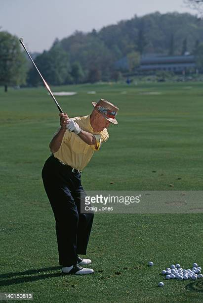American golfer Sam Snead taking a shot Virginia USA May 2000