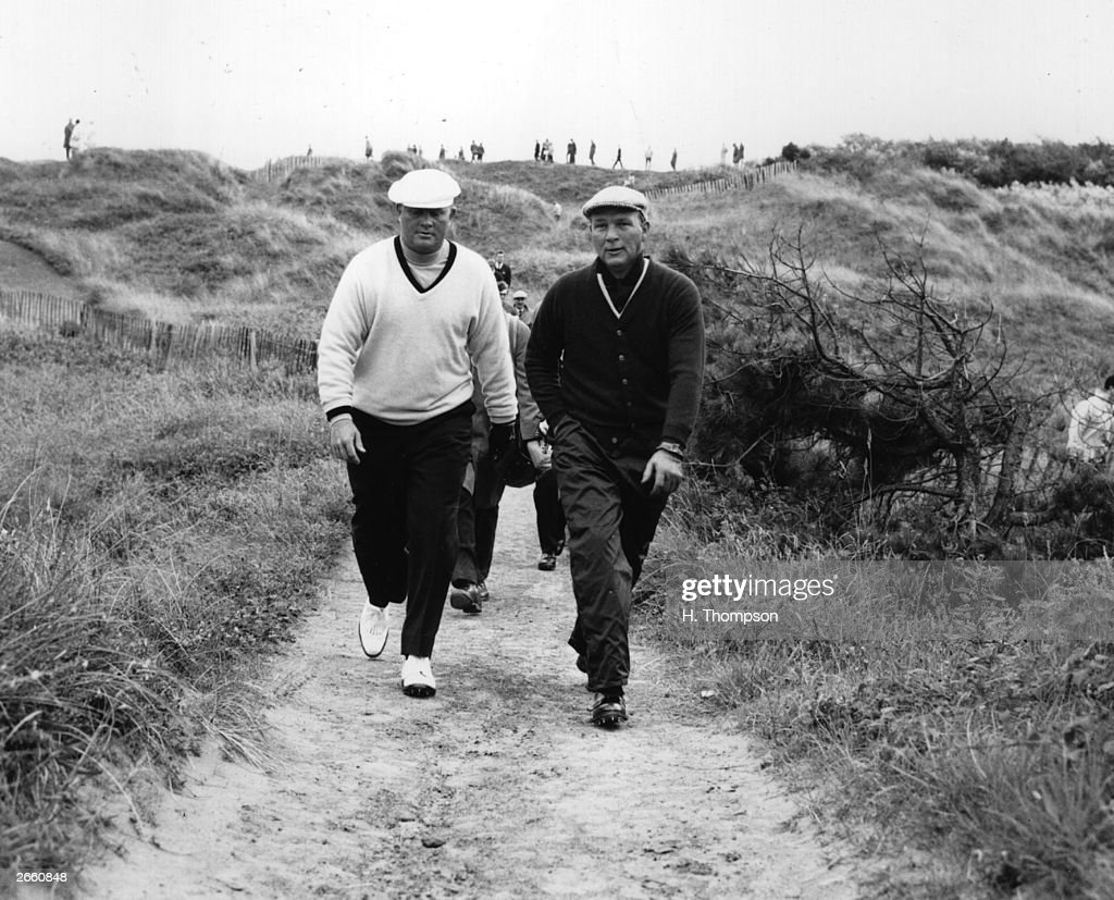 Nicklaus And Palmer : News Photo