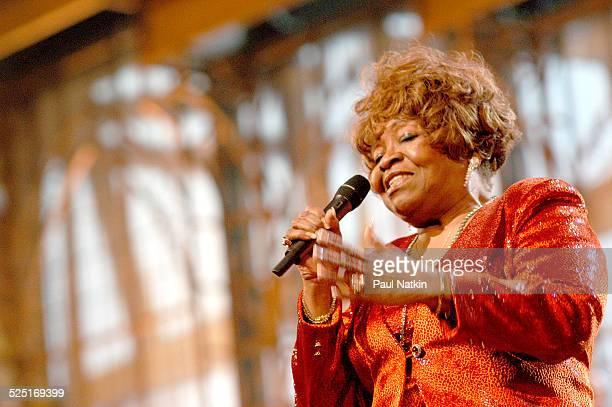 American gospel musician Albertina Walker performs Dallas Texas March 11 2003