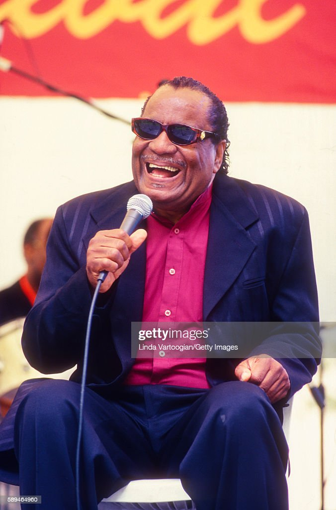 American Gospel Singer Clarence Fountain Performs With The Blind Boys News Photo Getty Images