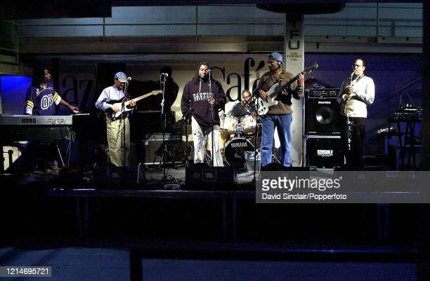 American group Blackbyrds perform live on stage at The Jazz Cafe in Camden London on 28th March 2012