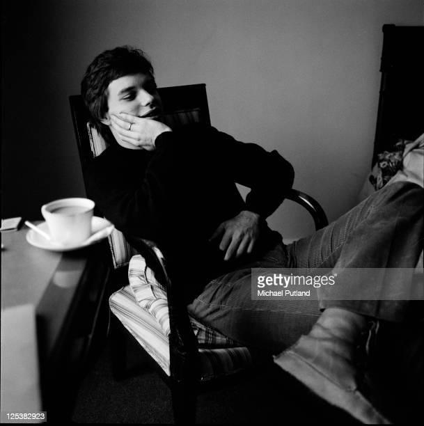American guitarist Leo Kottke portrait London 12th October 1973