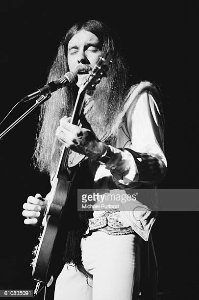 American guitarist Les Dudek performing with The Dudek Finnigan Krueger Band USA June 1978