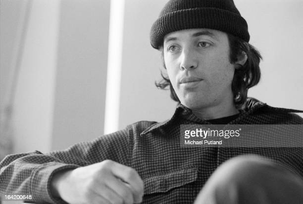 American guitarist Ry Cooder 1973