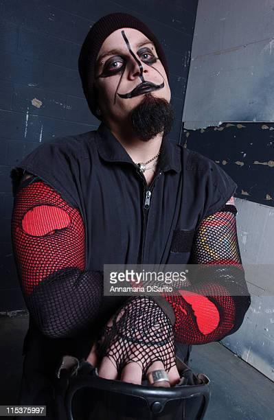 American Head Charge lead vocals Martin Cock during American Head Charge Photo Session at Los Angeles Location in Los Angeles California United States