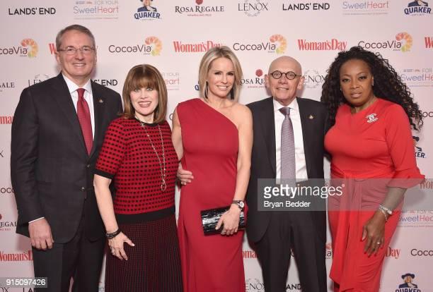American Heart Association Dr James Warner American Heart Association CEO Nancy Brown and Honoree and Chief Medical Correspondent Jennifer Ashton MD...