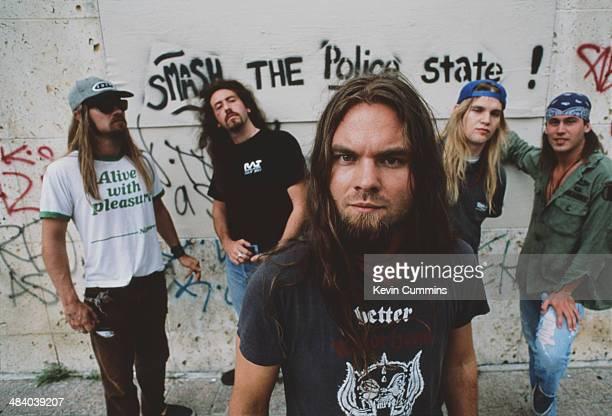 American heavy metal group Corrosion Of Conformity circa 1989