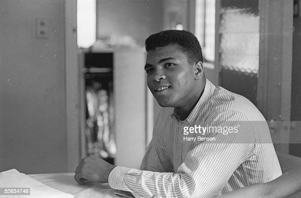 American Heavyweight boxer Cassius Clay February 1964