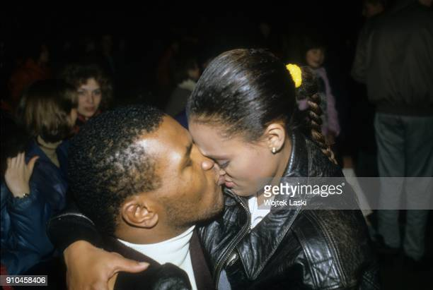 American heavyweight boxer Mike Tyson visisted Moscow to participate in the opening of the first in USSR golf club and meet with boxing fans in...