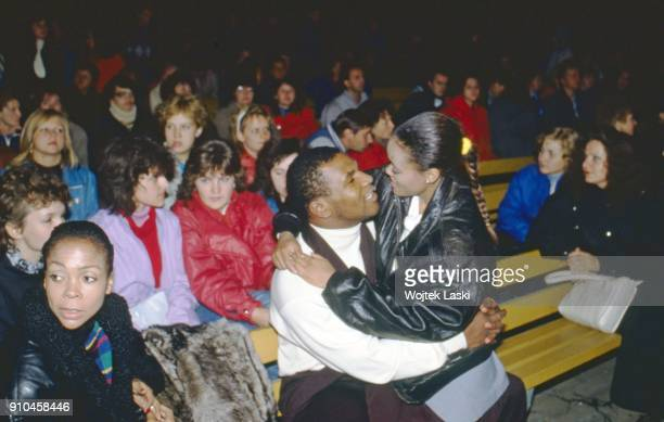 American heavyweight boxer Mike Tyson visited Moscow to participate in the opening of the first in USSR golf club and meet with boxing fans in Moscow...