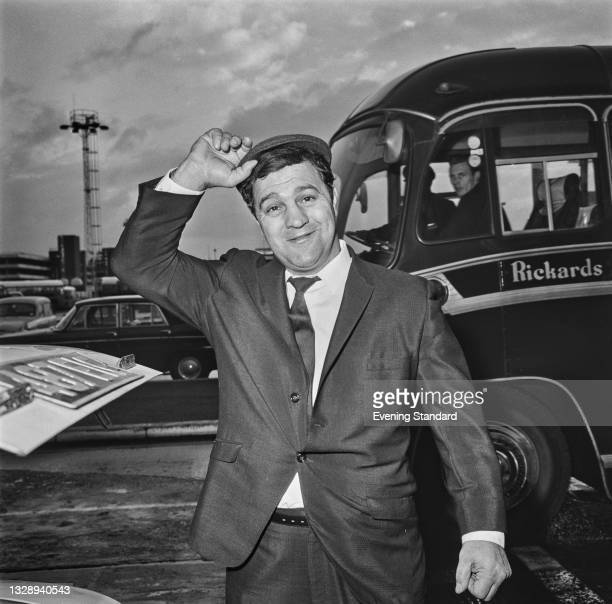 American heavyweight boxer Rocky Marciano , UK, 1st November 1965. He is in London to attend an Anglo-American Sporting Club event in his honour at...