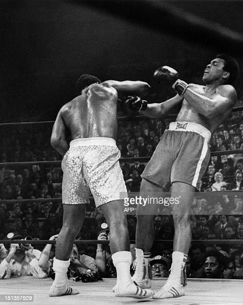 American heavyweight boxing champion Joe Frazier kept his title at the end of the fight called the match of the century against his compatriot...