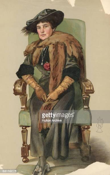 American heiress Jennie Jerome later Lady Randolph Churchill mother of British statesman Winston Churchill circa 1900