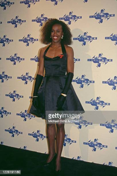 American heptathlete Jackie Joyner-Kersee attends the 14th Annual National CableACE Awards, held at Pantages Theater in Los Angeles, California, 17th...