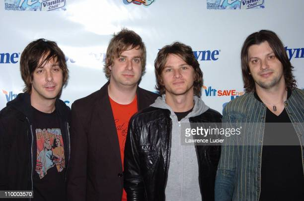 American HiFi during Live It Loud with Dentyne Presents The Walkmen and Ben Kweller to Benefit the VH1 Save the Music Foundation at Irving Plaza in...