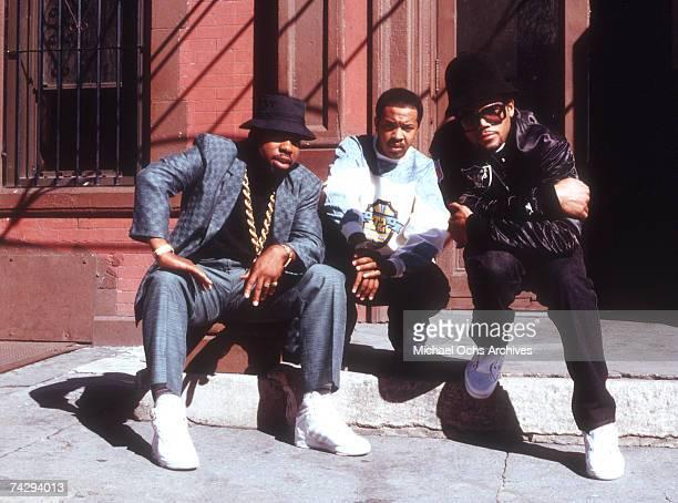 American hip hop band Run DMC circa 1985