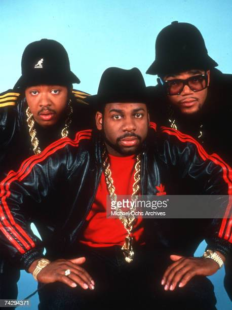 American hip hop band Run-DMC, circa 1985.