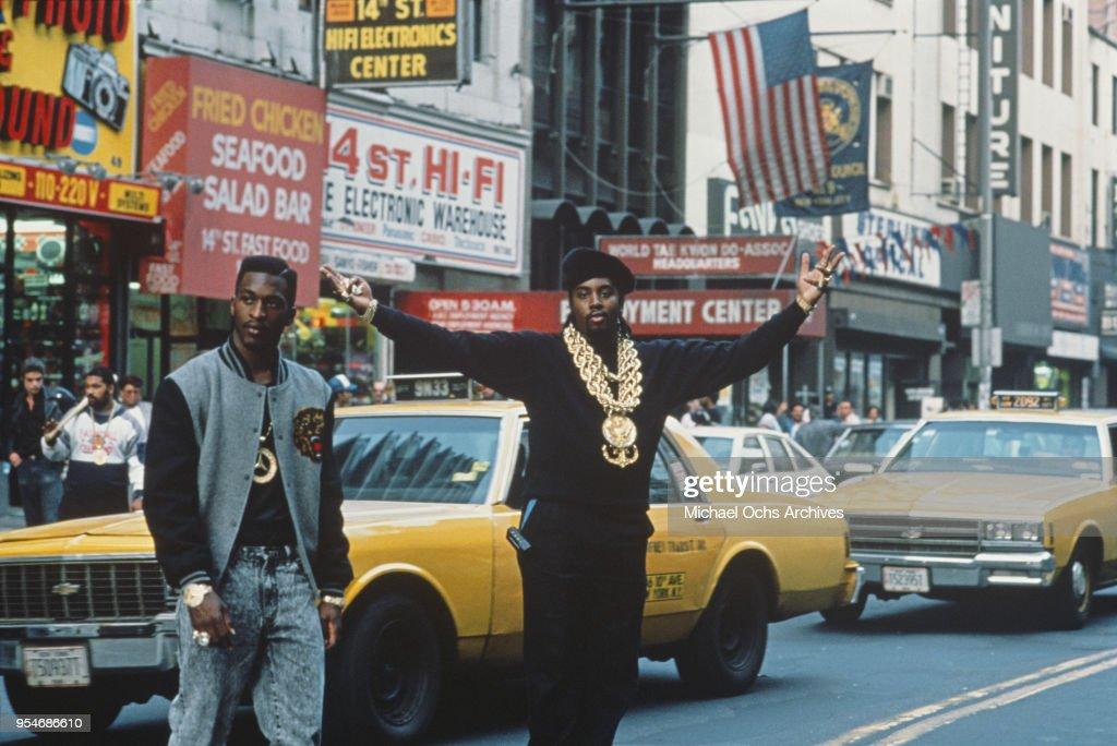Eric B & Rakim On 14th Street : News Photo