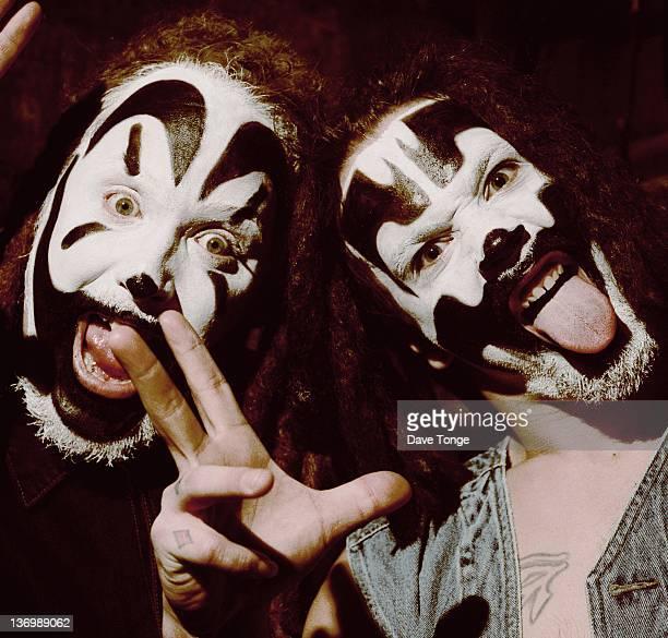 American hip hop duo Insane Clown Posse Detroit United States March 1998
