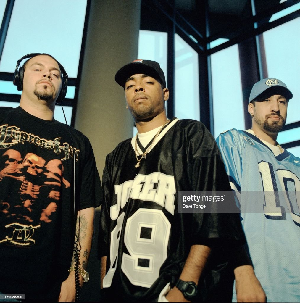 American hip hop group Cypress Hill, Los Angeles, United States, August 1998.