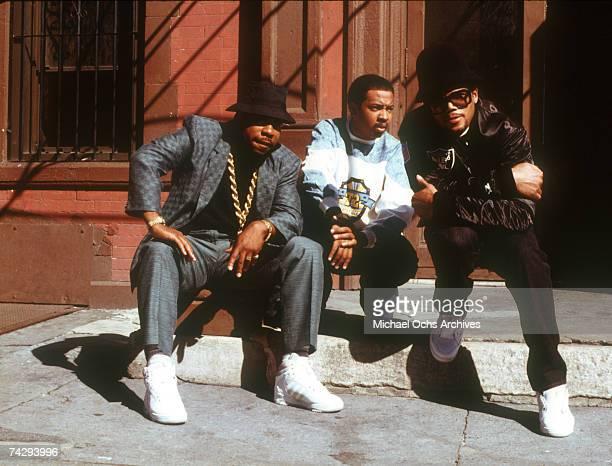American hip hop group Run DMC circa 1985