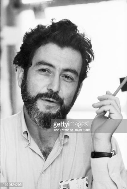 American historian novelist columnist and jazz music critic Nat Hentoff poses for a portrait in New York City New York Nat Hentoff was an editorial...