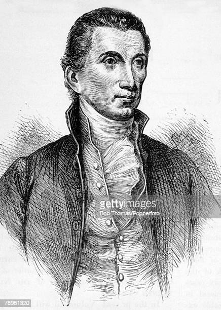 American History Illustration Politics pic circa 1825 James Monroe who became the 5th President of the United States 18171825