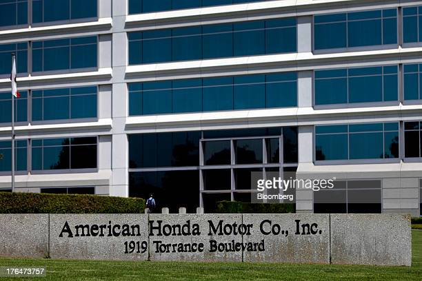 American Honda Motor Co Inc headquarters stands in Torrance California US on Tuesday Aug 13 2013 Honda Motor Co has sold 218000 Accords and 191000...