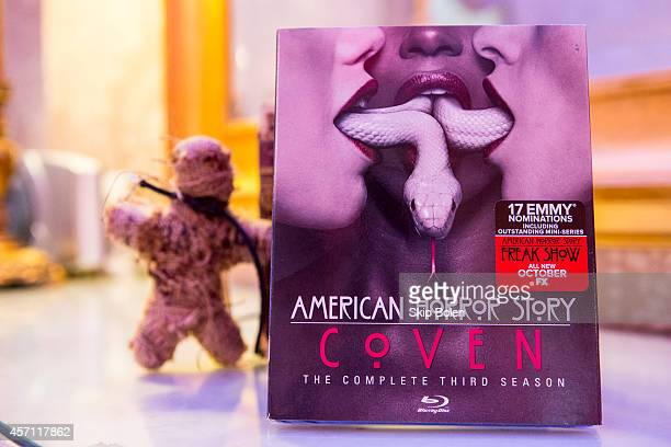 'American Horror Story Coven' Fan Event to celebrate the October 7 Bluray and DVD release at Buckner Mansion on October 11 2014 in New Orleans...
