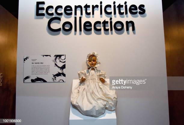 American Horror Story Eccentricities Gallery is seen at FX Networks FXhibition at San Diego Comic Con 2018 on July 19 2018 in San Diego California