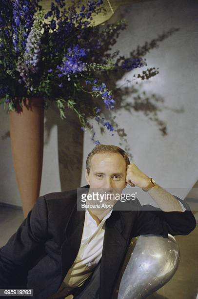 American hotelier Ian Schrager owner of the Paramount Hotel in New York City 5th October 1990
