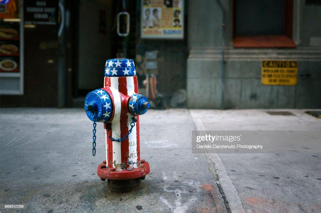 American Hydrant : Stock Photo