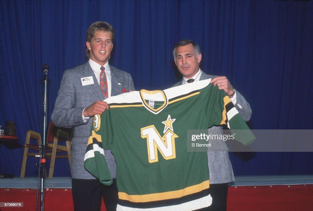 Mike Modano, North Stars' #1 Draft Pick : News Photo