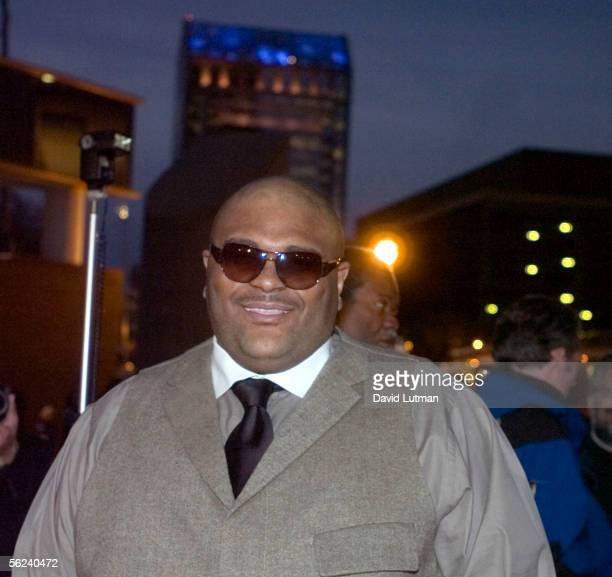 American Idol 2 champion Ruben Studdard at the Grand Opening Gala of the Muhammad Ali Center on the red carpet of the Kentucky Center for the Arts...